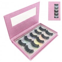 5 pairs 3D faux lashes with beautiful box