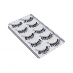 5 pairs 3D Mink Natural Eyelashes b011
