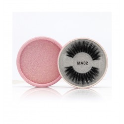 3D Silk protein Handmade False EyeLashes b201