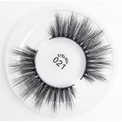 3D Silk protein Handmade False EyeLashes b305