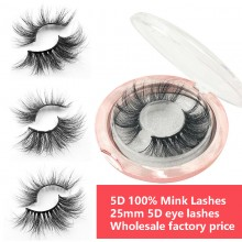5D 25mm luxury mink eyelashes wholesale [Bea Lashes]