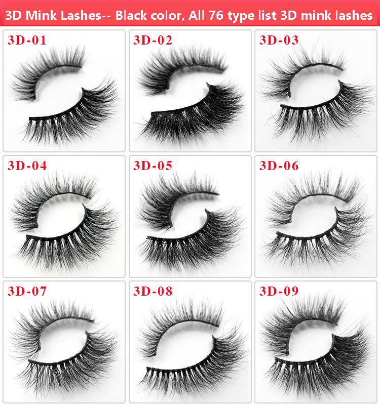 All 3D mink lashes 18