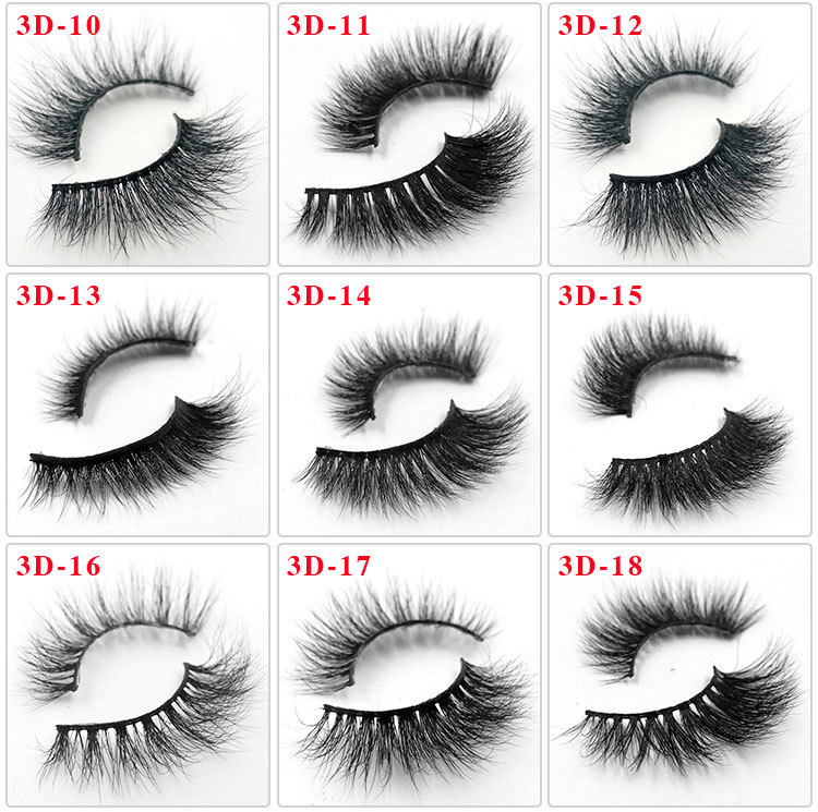 All 3D mink lashes 1