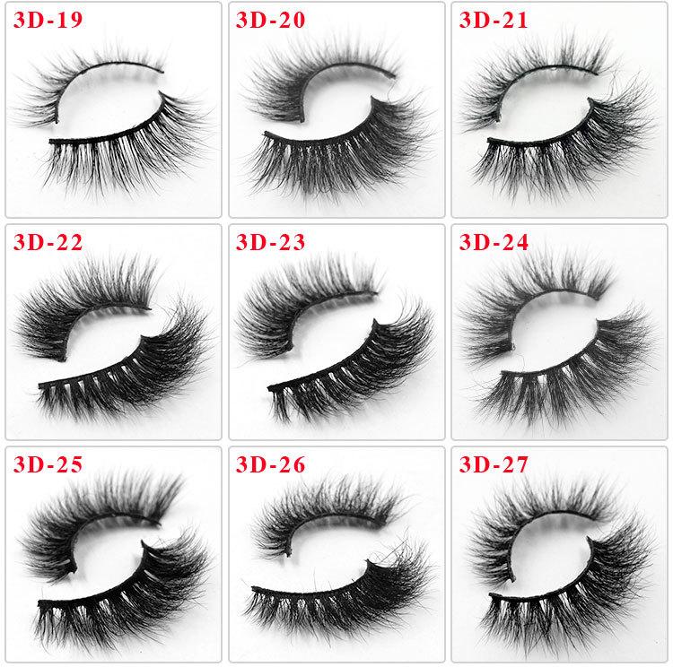 All 3D mink lashes 27
