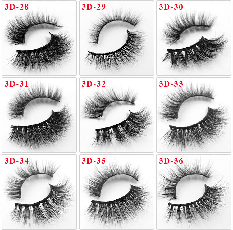 All 3D mink lashes 36