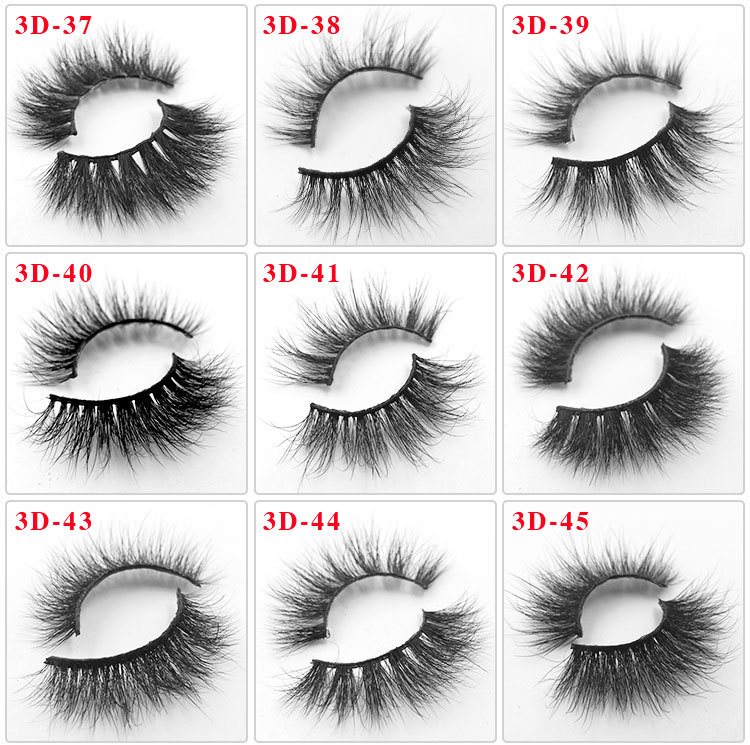All 3D mink lashes 45
