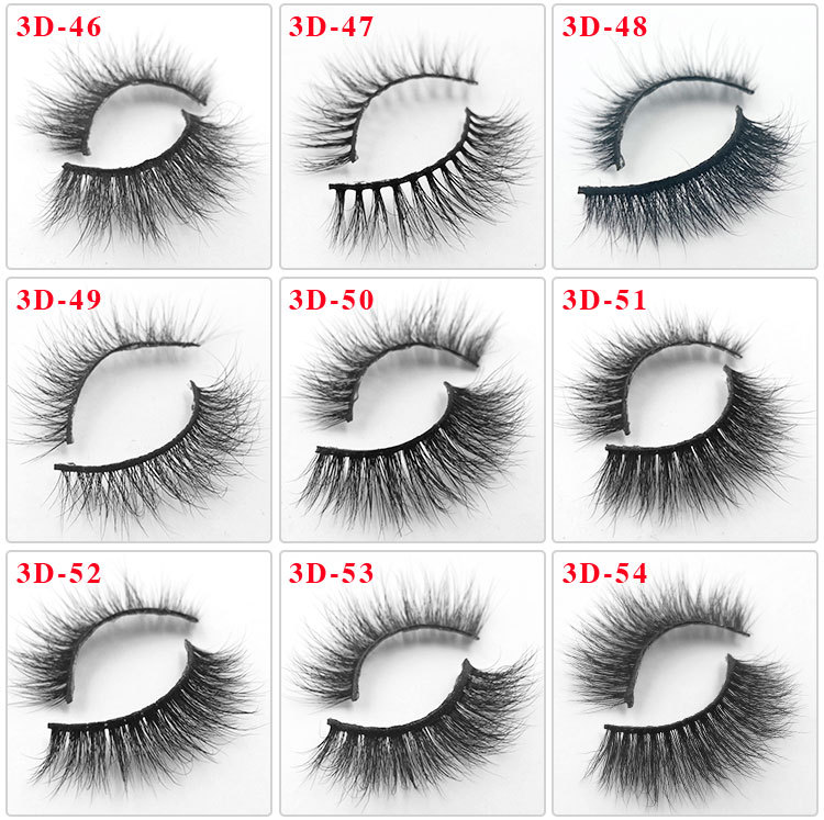 All 3D mink lashes 54