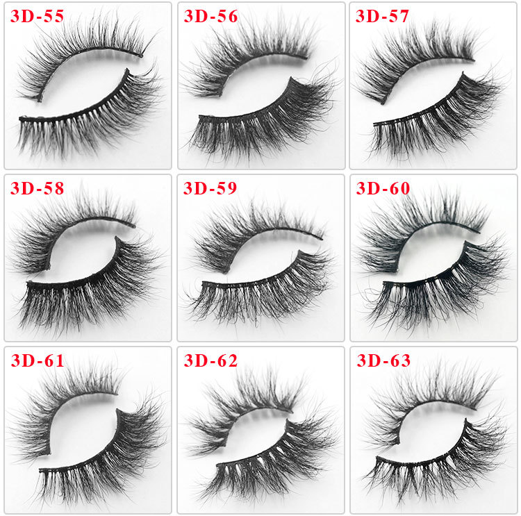 All 3D mink lashes 63