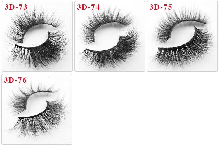 All 3D mink lashes 76
