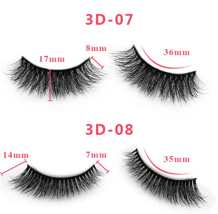3d mink lashes size details 05
