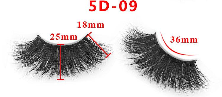 5D mink lashes wholesale