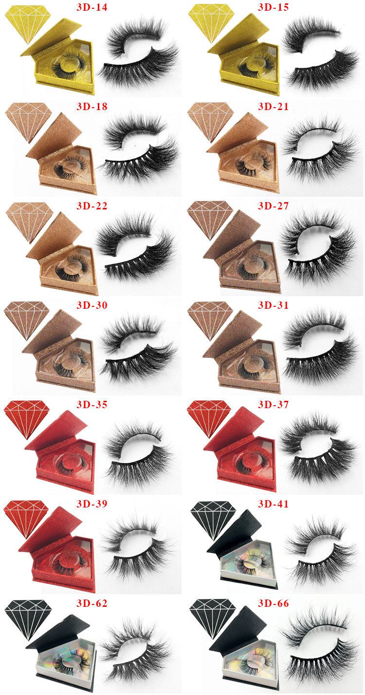 3d custom package mink lashes3