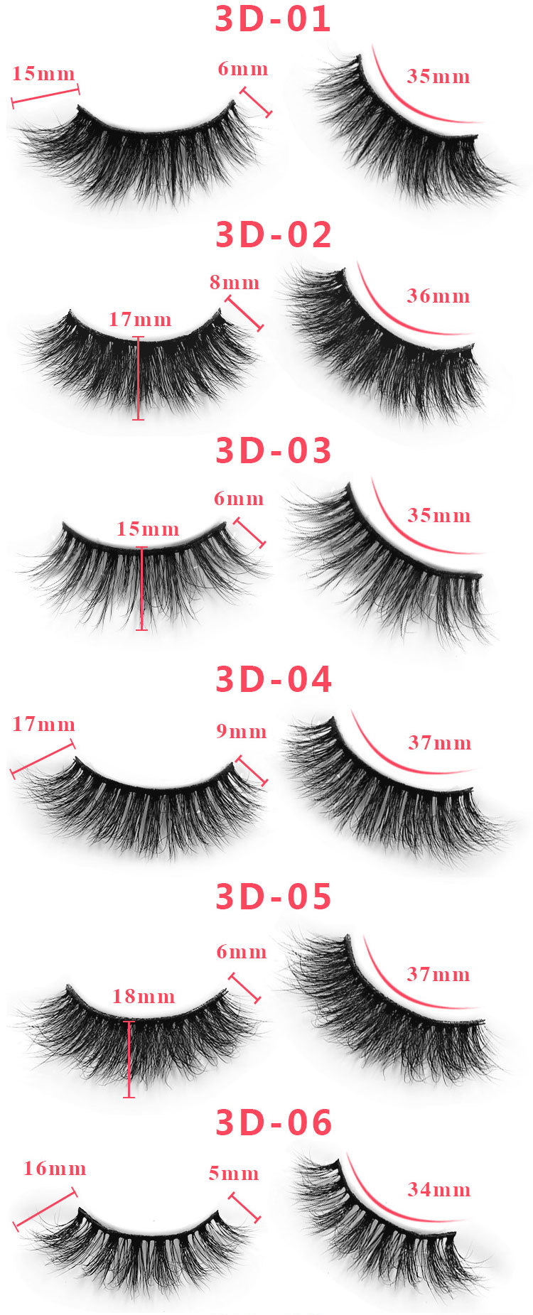 3d custom package mink lashes9
