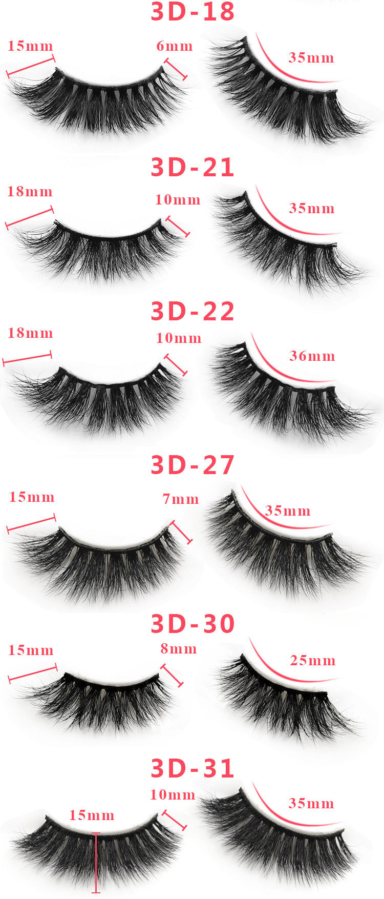 3d custom package mink lashes5