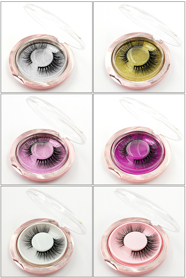 3D mink lashes crystal default