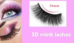 100% 3D mink lashes